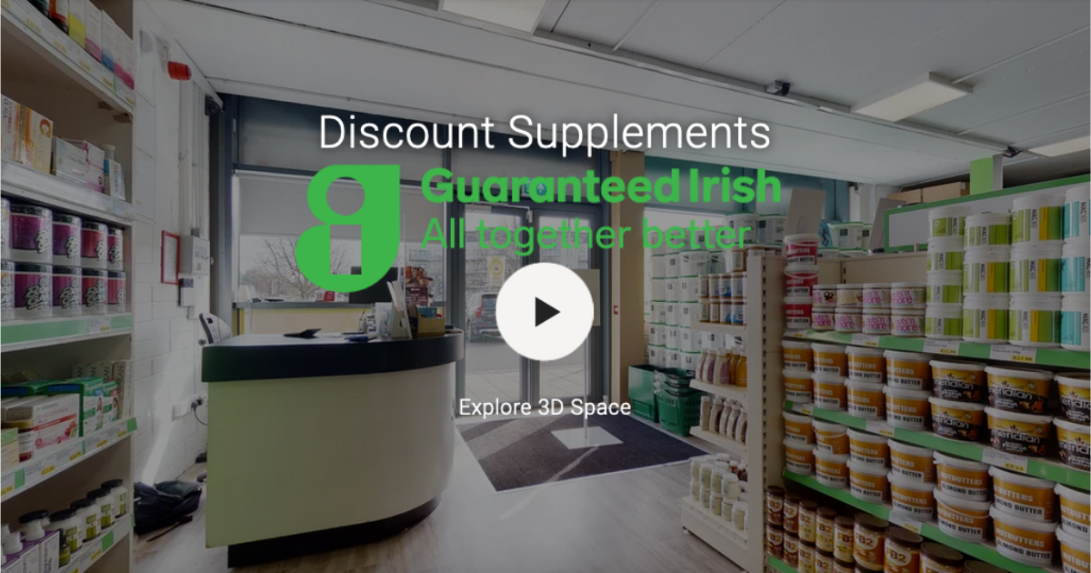 Discount Supplements Has Been Awarded Guaranteed Irish Certification